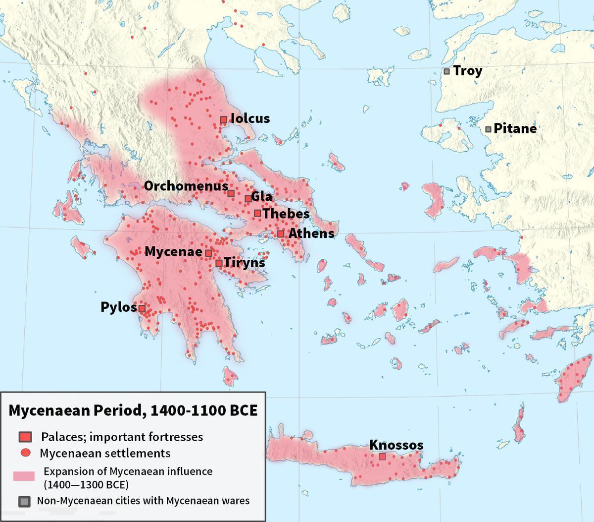 Grecia Antică Harta Knossos Harta Greciei Antice Knossos Europa